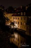 Prague River Reflections