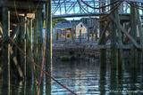 lobster pound, restaurant, Bar Harbour, Maine, pier, Stewmans