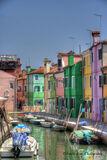 Burano, Italy, canal