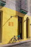 Havana, Cuba, architecture, building, bicycle