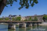 Paris, France, pont des arts, bridge, pedestrian, river seine
