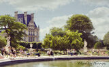Tuileries, garden, Paris, French, Louvre Museum, place de la Concorde