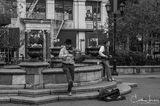 Union Square, Manhattan, New York, street musicians