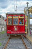 New Orleans, Louisiana, streetcar,