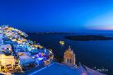 Santorini Blue Hour