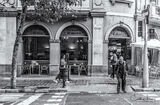 Barcelona, Spain, street scene