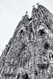 Basilica de la Sagrada Familia, Barcelona, Spain, architect, Antoni Gaudi, exterior