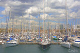 Barcelona, Spain, marina, boat
