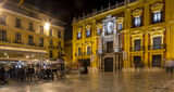 An Evening in the Old City of Malaga