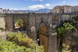 Ronda, Spain, gorge, El Tajo, old town, Puente nuevo, new bridge