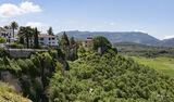 Ronda, Spain, gorge, El Tajo, old town