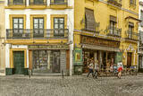 Seville, Spain, Sidewalk cafe, Europe, architecture, Alameda District