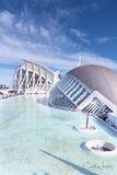 Valencia, Spain, City of Arts and Science, planetarium, oceanarium,