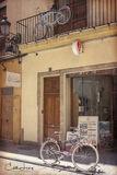 Valencia, Spain, City of Arts and Science, planetarium, oceanarium, old town, bike