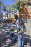 Valencia, Spain, City of Arts and Science, planetarium, oceanarium, old city, square, artist