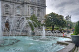 Old Montreal, city hall, fountain, water