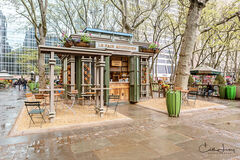 Coffee Time in Bryant Park