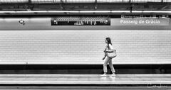 Barcelona Subway - Passeig de Gracia