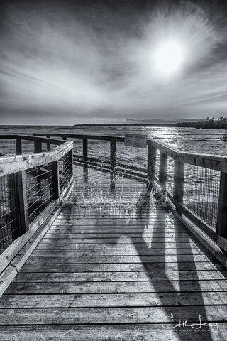 Singing Sands beach, Bruce Peninsula National Park, Lake Huron, low tide, sand ripples