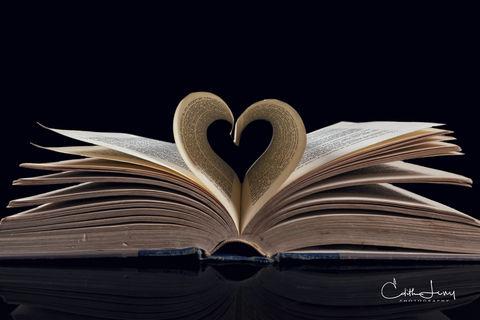 book, books, book project, love, heart