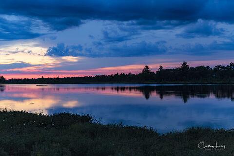 Torrence Barrens, dark sky preserve, Gravenhurst, Ontario, Toronto, night photography, star trails, sunset