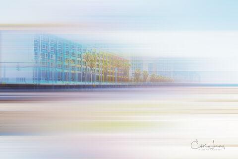 Tel Aviv, Israel, Dan Tel Aviv, hotel, Yaacov Agam, motion, promenade, beach, colourful, facade