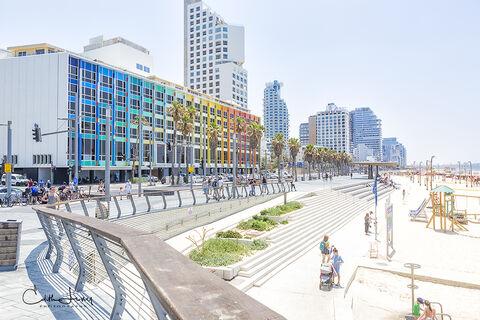 Israel, Tel Aviv, Dan Tel Aviv, beach, luxury hotel, Neve Tzedek, Old Jaffa, port, Yaakov Agam
