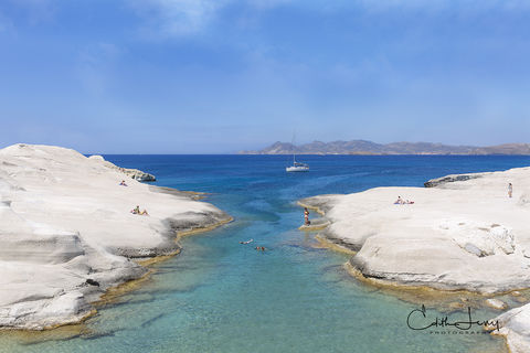 Sarakiniko, Milos, Greece, Aegean, beach, moonscape, landscape