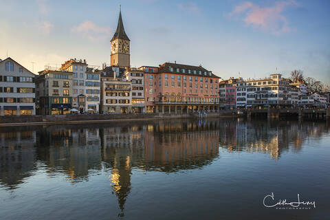 Along the Limmat River