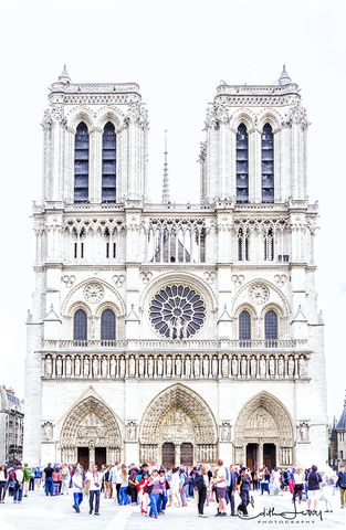 Notre Dame Cathedra, Paris, France, gothic, restoration,