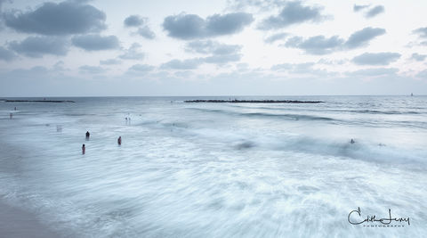 Tel Aviv, Israel, beach, sunset,