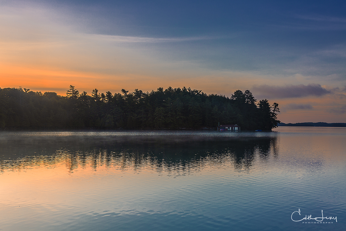 Muskoka, Lake Rosseau, Toronto, Ontario, Lake Joseph, summer destination, sunrise, photo
