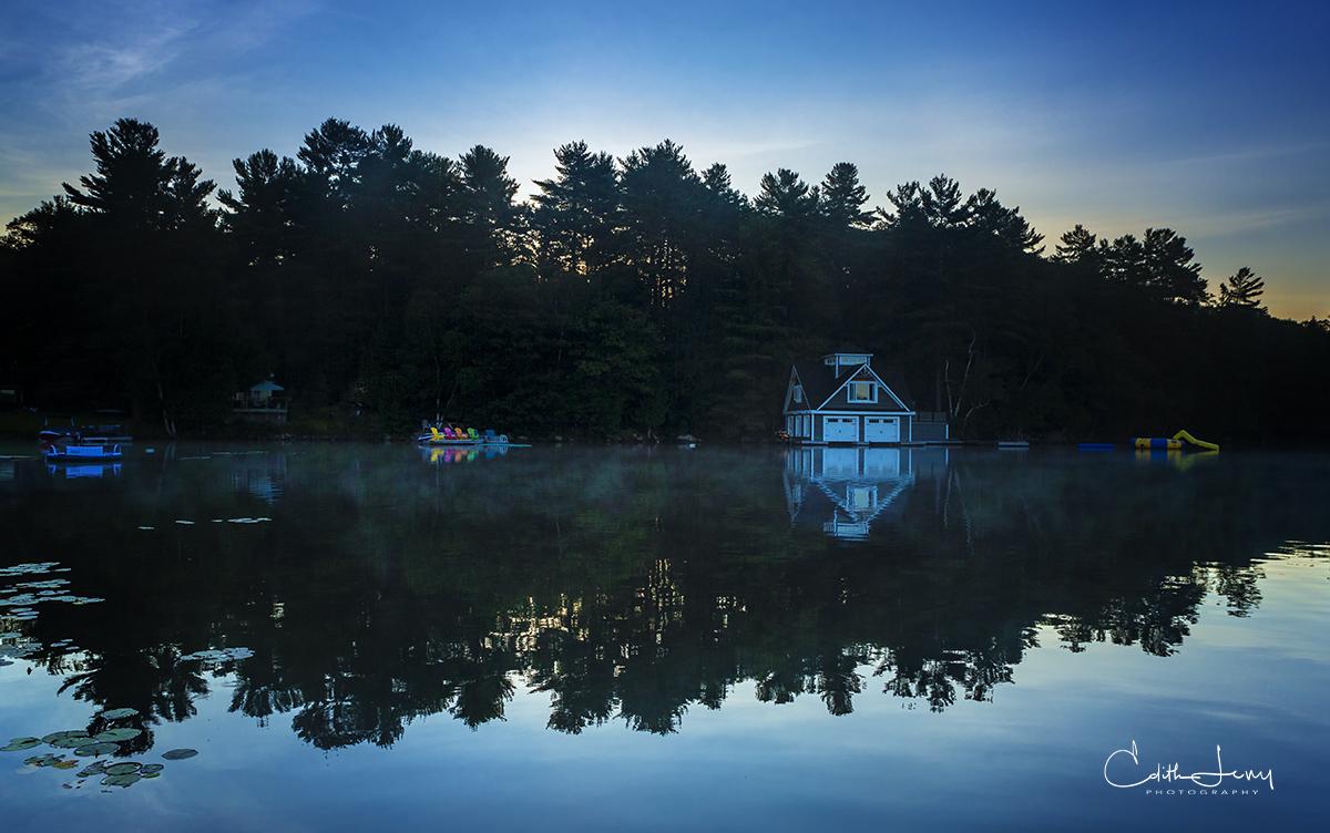 Muskoka, Lake Rosseau, Toronto, Ontario, Lake Joseph, summer destination, sunrise, photo