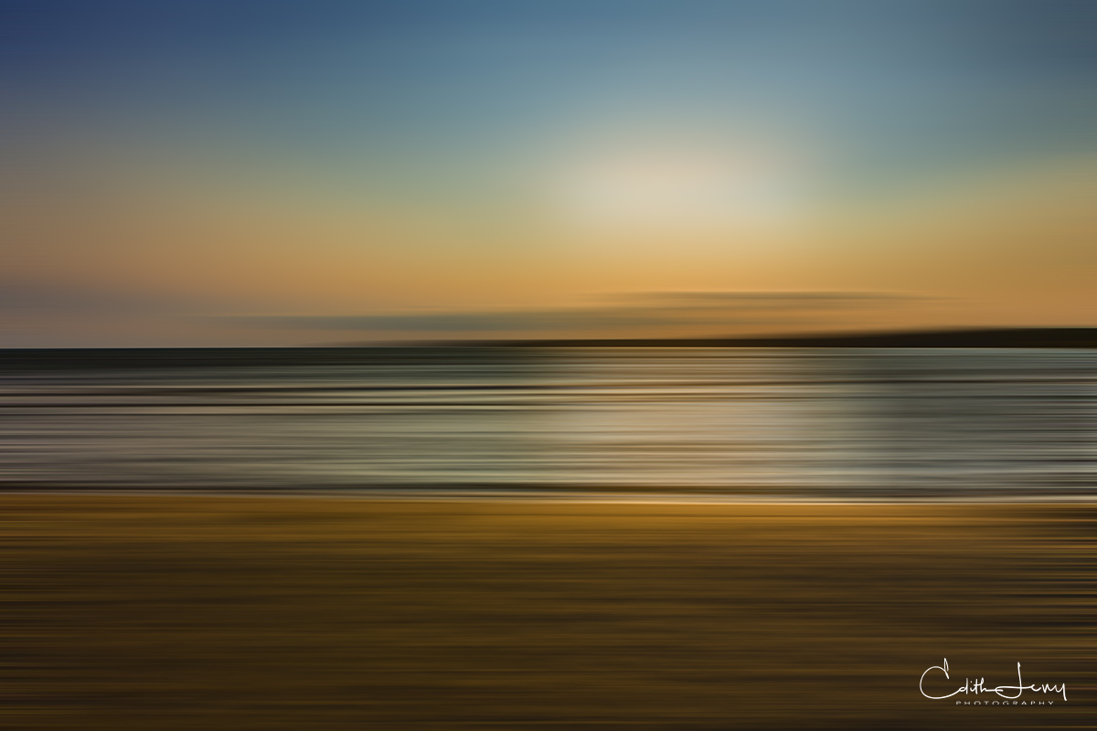 abstract, singing sands, Tobermory, Bruce Peninsula, Ontario, sunset, , photo
