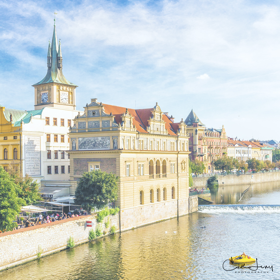 Charles Bridge, Old City Prague, Prague, Vltava river, Czech Republic, photo