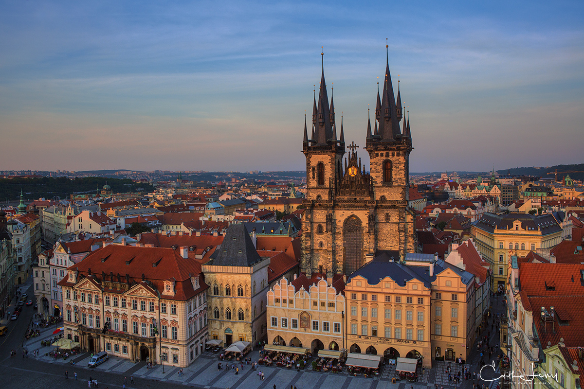 Church, lady before Ten, Prague, Czech Republic, old city, photo