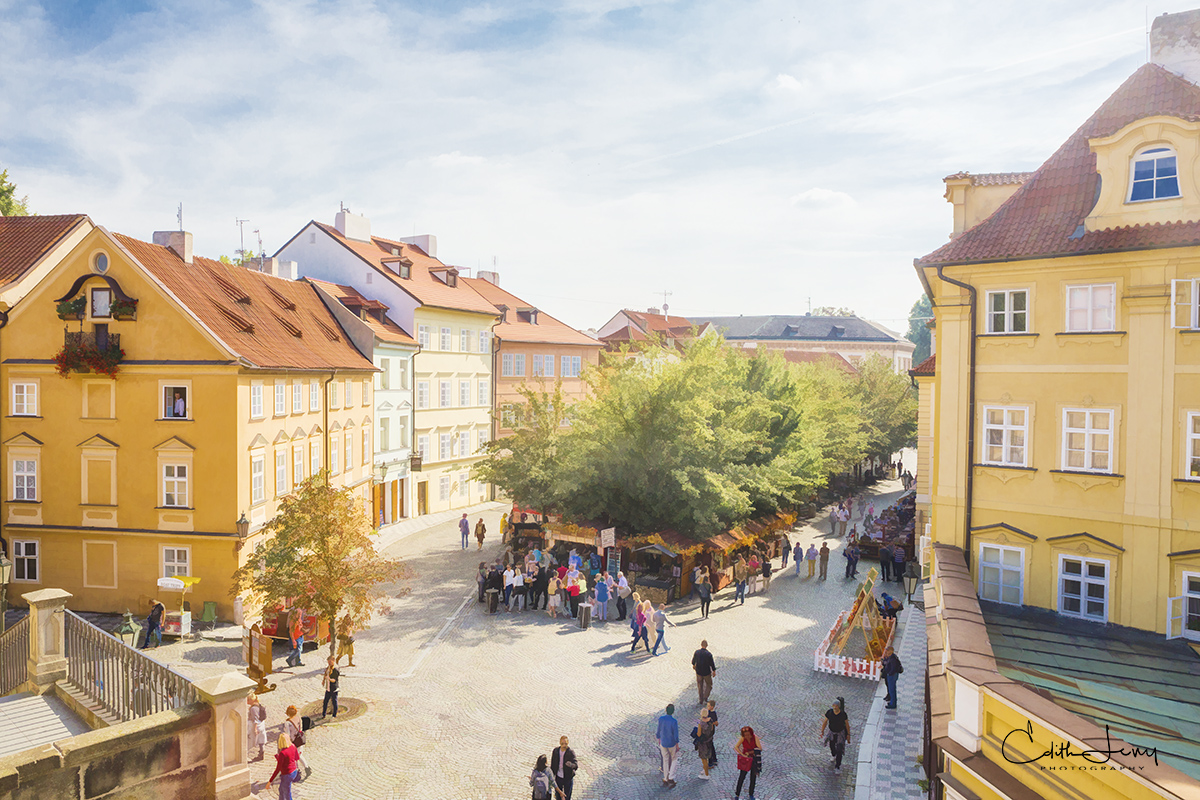 Limited Edition of 50 The architecture in the old quarter of Prague dates back to the 14th century. While the main square is...