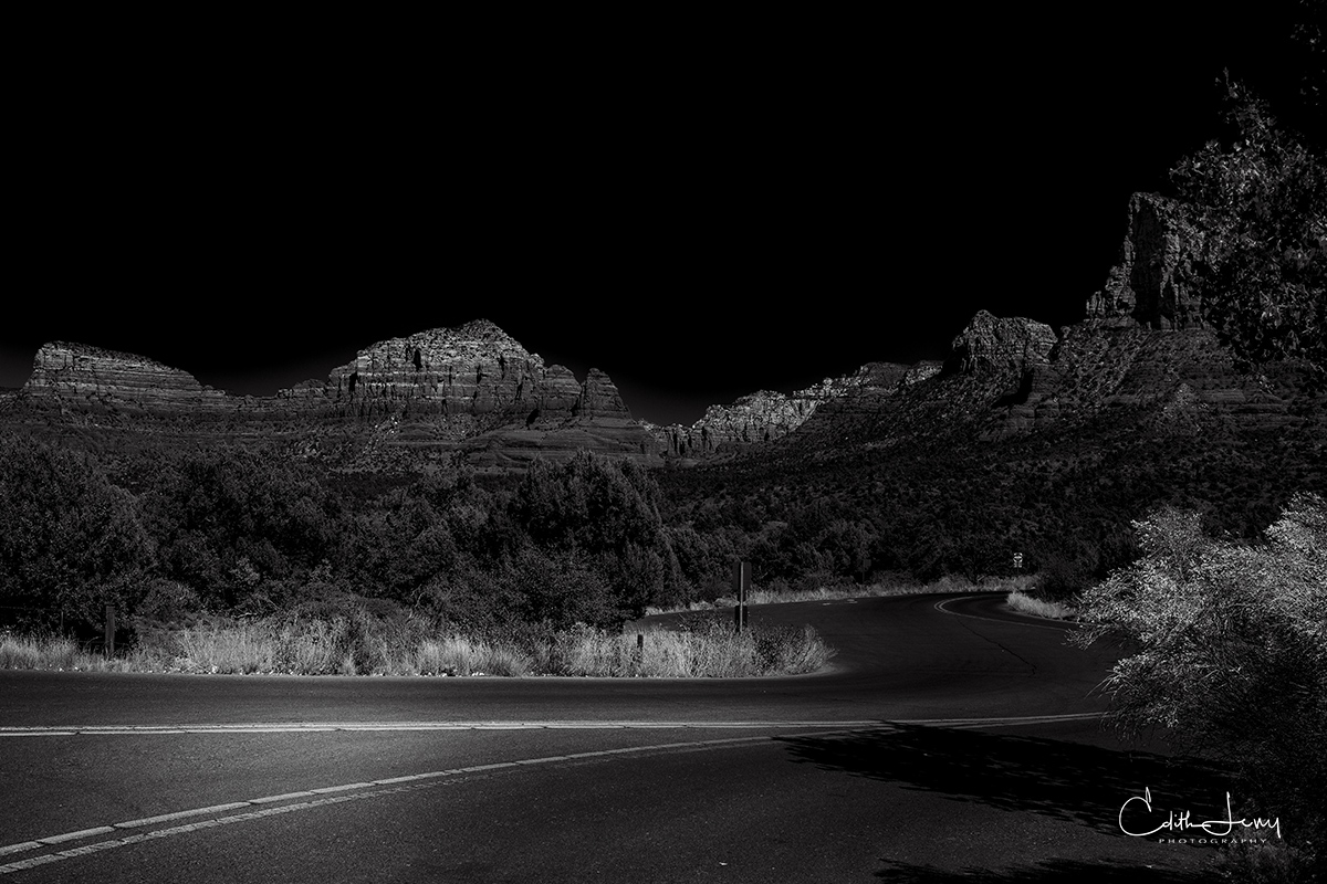 On route from Sedona to Page.