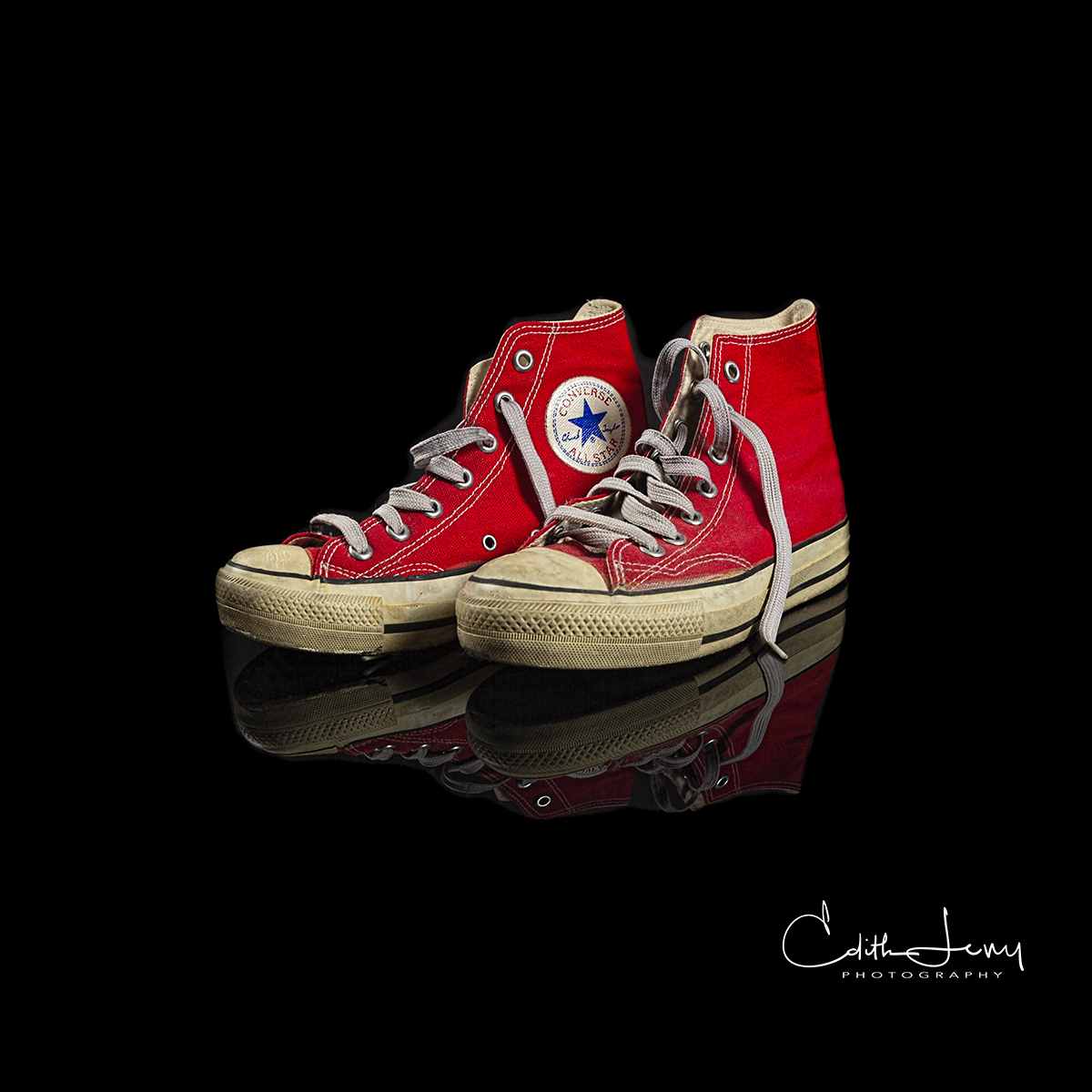 """Limited Edition of 100 The Converse """"Chuck Taylor All Stars"""" were introduced in the 1920's and has remained largely unchanged..."""