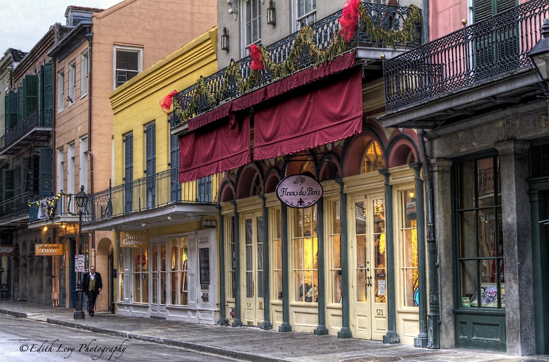 Fleur de Paris, French quarter, New Orleans, Louisiana, architecture, photo