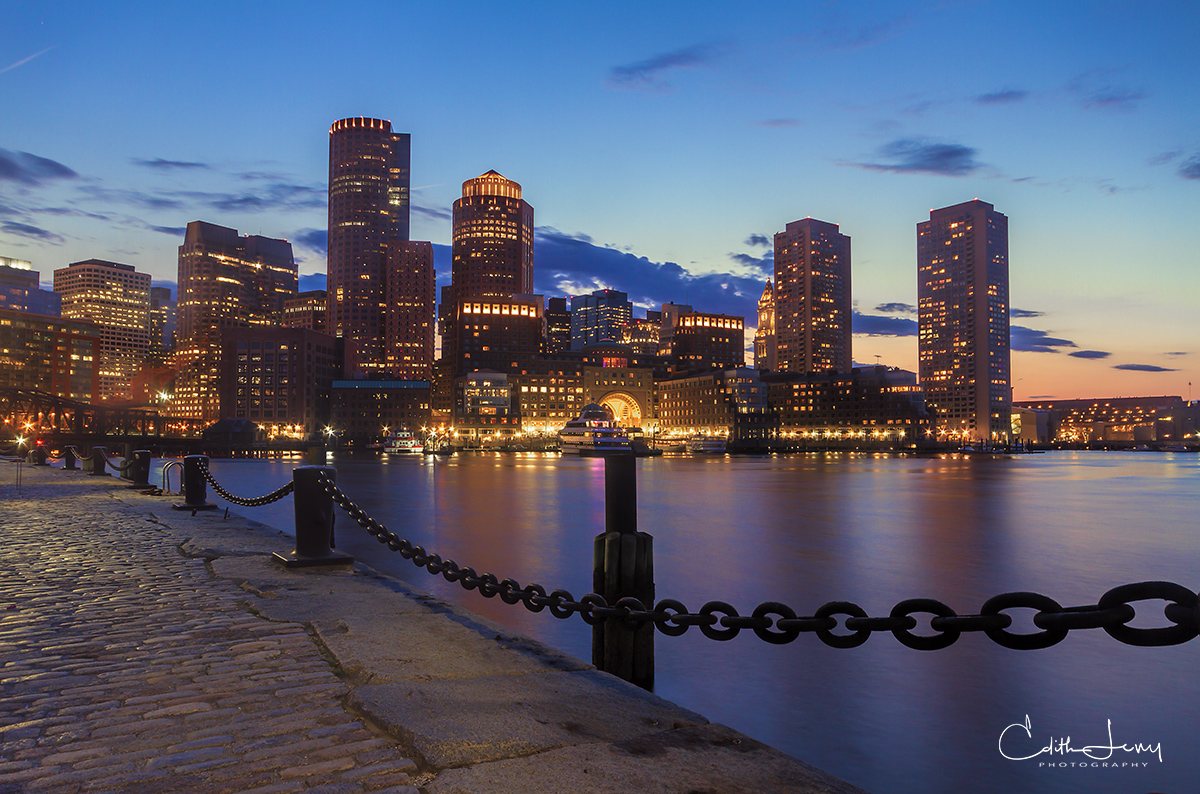Limited Edition of 50 Walking along the Fan Pier in Boston's Seaport area is a must if you're visiting Boston. Along with lots...