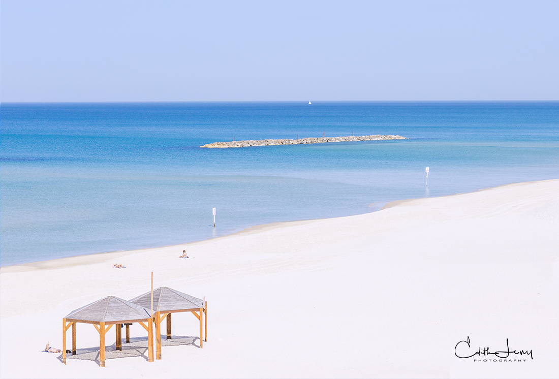 Limited Edition of 50 Sun, sand and a brilliant blue sea = R&R.  Spring in Tel Aviv is wonderful as the throngs of tourists haven...