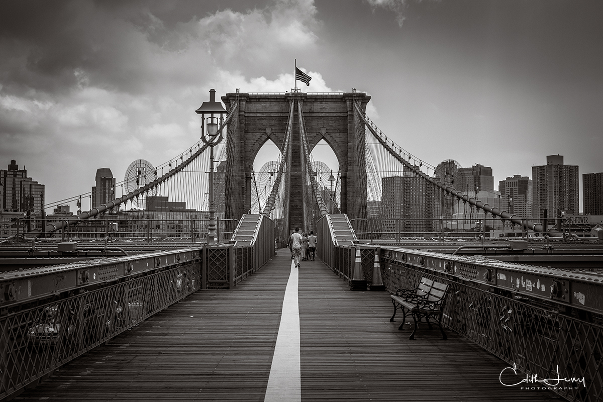 Everyone should walk across the Brooklyn Bridge at least once. The views and experience are unparalleled.