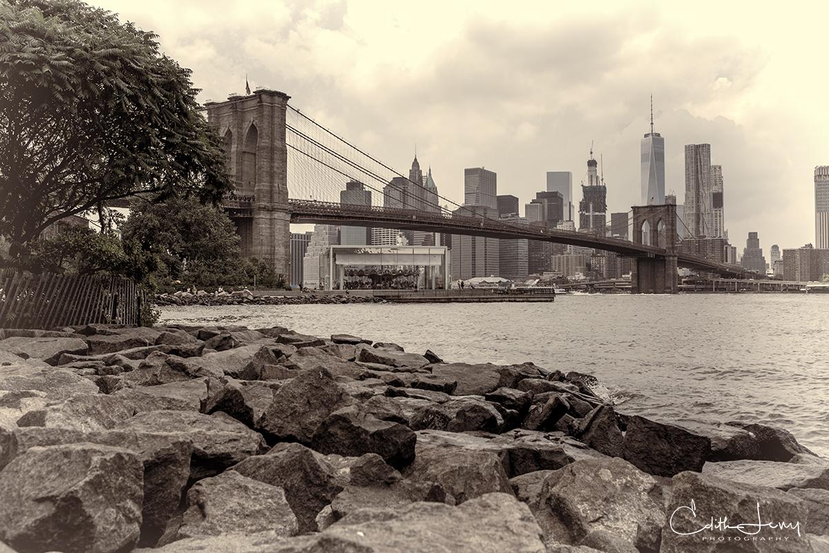 Brooklyn, bridge, park, Manhattan, New York, , photo