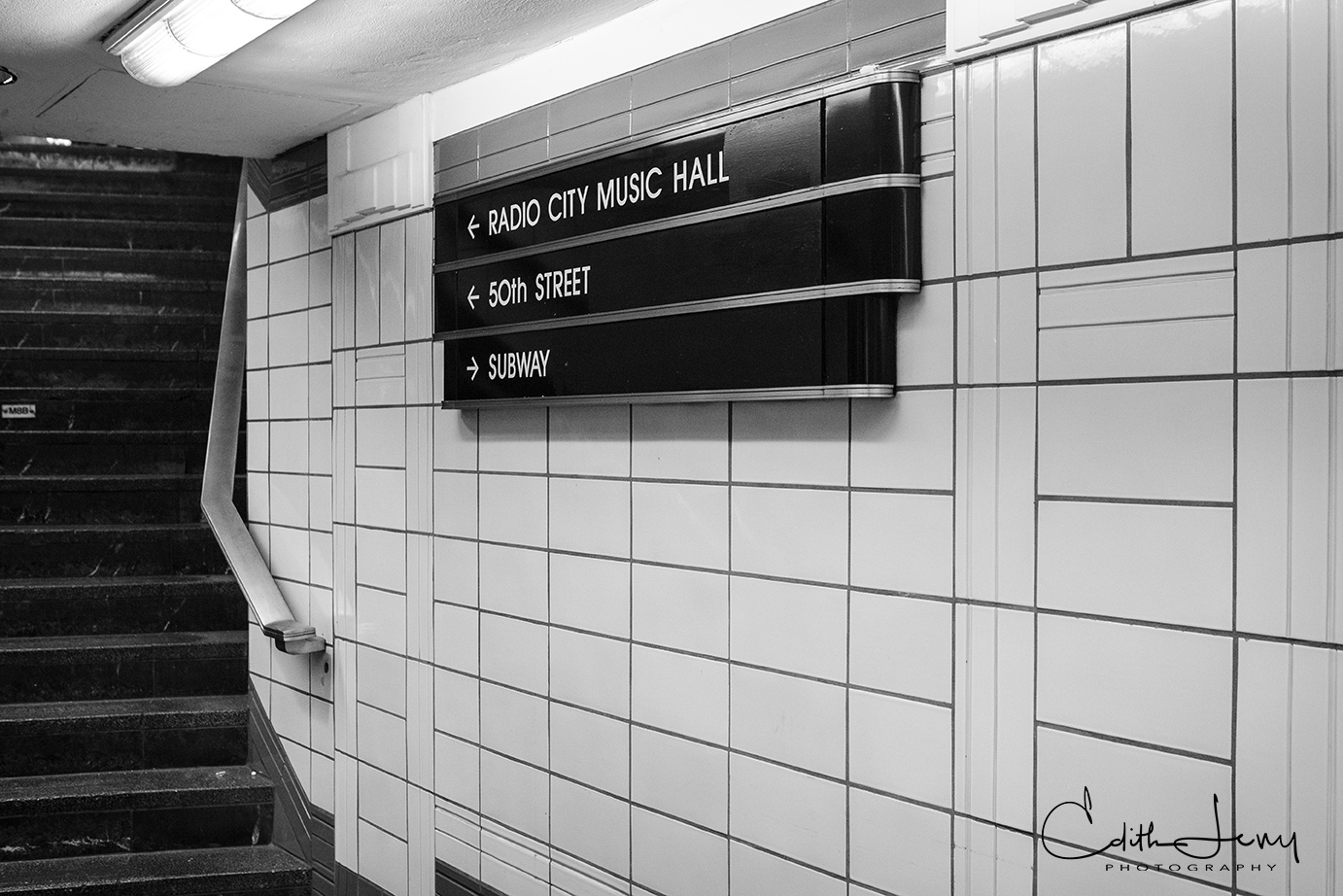 I love travelling by subway in New York. Everywhere you look there's a story or a tableau to be photographed. Each station has...