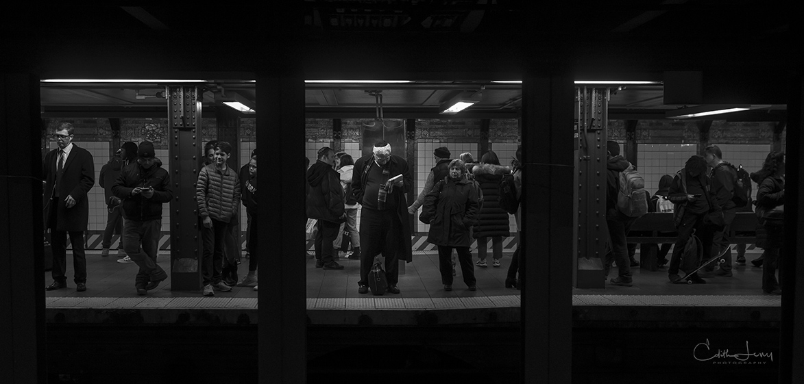 Manhattan, NYC, New York, subway, subway tableau, subway Stories, photo