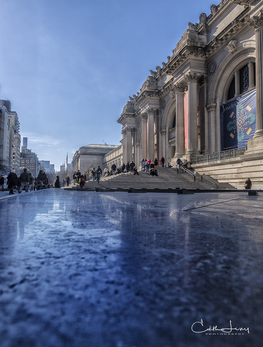 The Metropolitan Museum of Art or The Met, located on Manhattan's East Side on 5th Avenue, is the largest museum in the U.S.