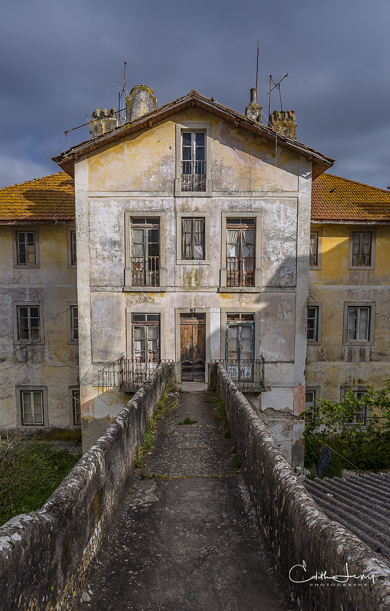 Lisbon, Portugal, Sintra, abandoned, building, palace, castle, travel, limited edition , photo
