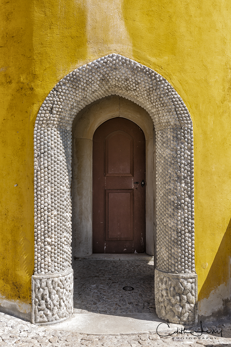 Sintra is a picturesque town in the municipality of  Greater Lisbon. It's actually only about a 30 minute train ride from Lisbon...