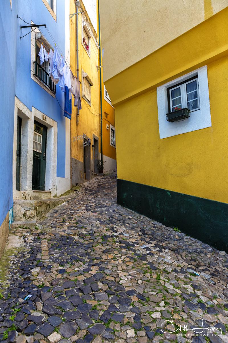 Lisbon, Lisboa, Portugal, alley, photo